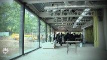 chantier du musée Soulages