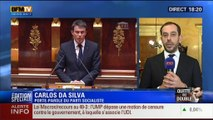 """BFM Story: Édition spéciale Loi Macron (3/9): """"Le 49.3 est une disposition parmi tant d'autres pour faire passer les textes importants"""": Carlos Da Silva - 17/02"""