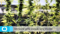 Jon Snow Gets Stoned, Very Stoned