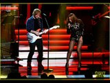 Beyonce Performs with Ed Sheeran at Stevie Wonder Tribute! February 10 2015