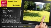 A vendre - maison - SAINTES (17100) - 7 pièces - 208m²