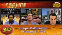 Cal Bears vs. Stanford Cardinals Pac 12 Hoops Preview, February 21, 2015