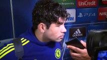 """Diego Costa: """"El empate es bueno pero el partido no"""""""