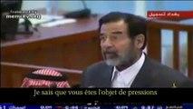 Saddam Hussein - Dernier discours à son procès (VOSTFR)