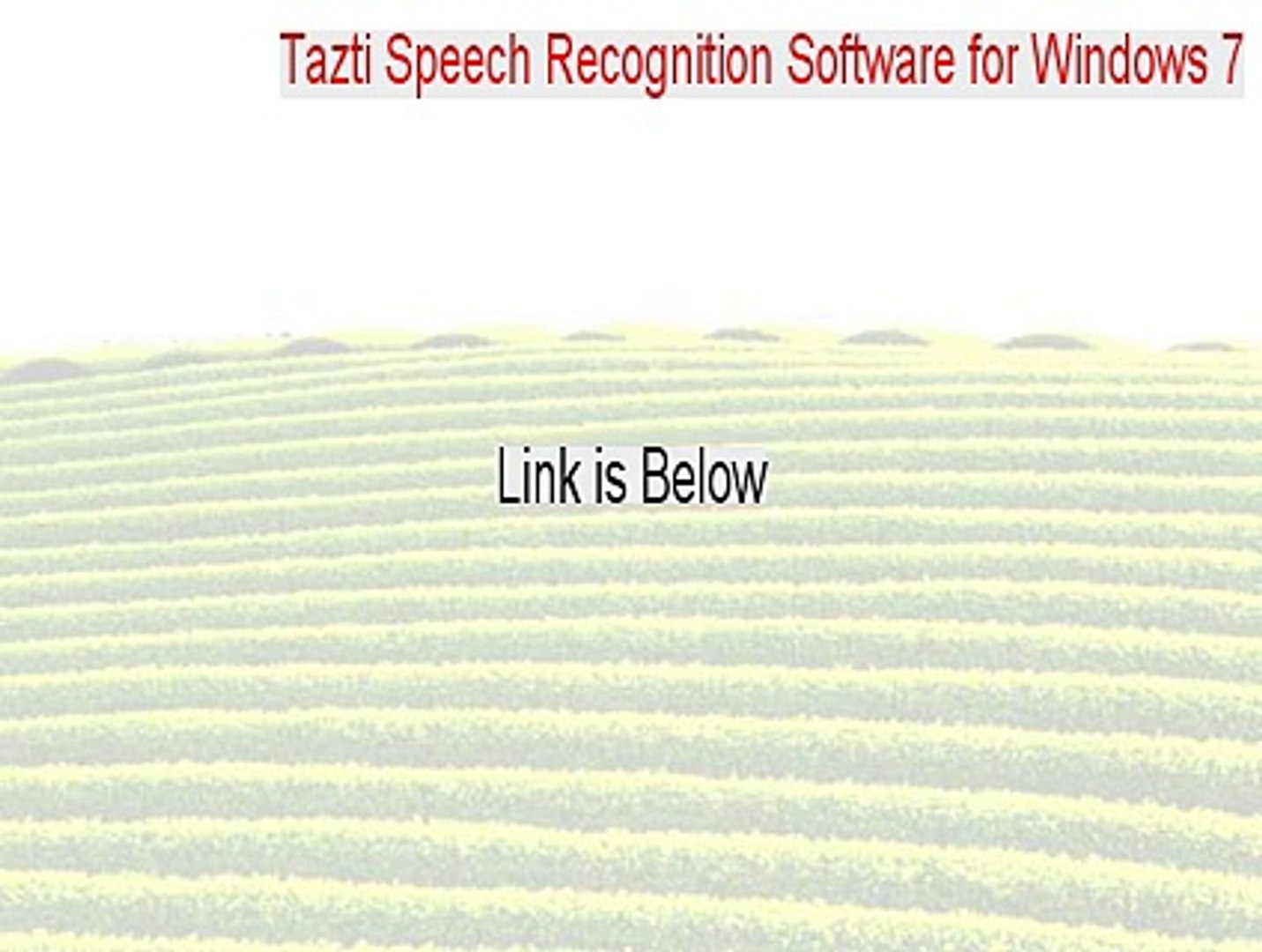 Tazti Speech Recognition Software for Windows 7, 8, 8.1 (64-bit) Cracked - Tazti Speech Recognition