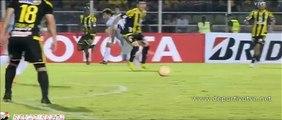 Hat-Trick de Goles de Gustavo Bou Deportivo Táchira vs Racing Club 0-5 copa libertadores 2015