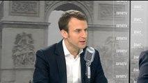 """Emmanuel Macron: """"Le gouvernement a pris ses responsabilités"""""""