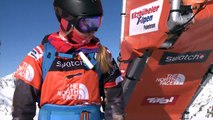 FWT15 - Run of Mary Celia Boddington (USA) Swatch Freeride World Tour 2015 Fieberbrunn By The North Face restaged in Vallnord-Arcalis AND