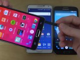 Samsung Galaxy Note 4 vs. Samsung Galaxy Note 3 vs. Samsung Galaxy Note 2 - Review (4K)