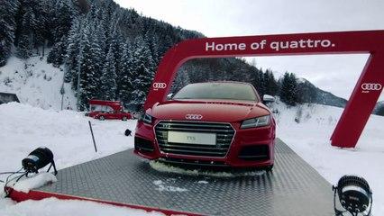 Testez l'Audi Q3 lors des finales de Megève et Meribel