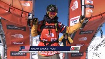 FWT15 - Run of Ralph Backstrom (USA) Swatch Freeride World Tour 2015 Fieberbrunn By The North Face restaged in Vallnord-Arcalis AND