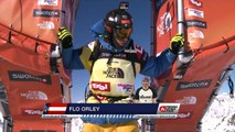 FWT15 - Run of Flo Orley (AUT) Swatch Freeride World Tour 2015 Fieberbrunn By The North Face restaged in Vallnord-Arcalis AND