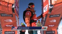 FWT15 - Run of Brian Bozack (USA) Swatch Freeride World Tour 2015 Fieberbrunn By The North Face restaged in Vallnord-Arcalis AND