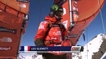 FWT15 - Run of Léo Slemett (FRA) Swatch Freeride World Tour 2015 Fieberbrunn By The North Face restaged in Vallnord-Arcalis AND
