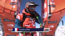 FWT15 - Run of Julien Lopez (FRA) Swatch Freeride World Tour 2015 Fieberbrunn By The North Face restaged in Vallnord-Arcalis AND