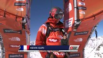 FWT15 - Run of Kevin Guri (FRA) Swatch Freeride World Tour 2015 Fieberbrunn By The North Face restaged in Vallnord-Arcalis AND