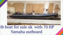 Buy 16 foot rib boat for sale poole   with 70 HP Yamaha outboard