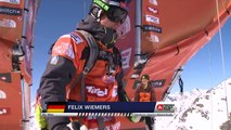 FWT15 - Run of Felix Wiemers (GER) Swatch Freeride World Tour 2015 Fieberbrunn By The North Face restaged in Vallnord-Arcalis AND