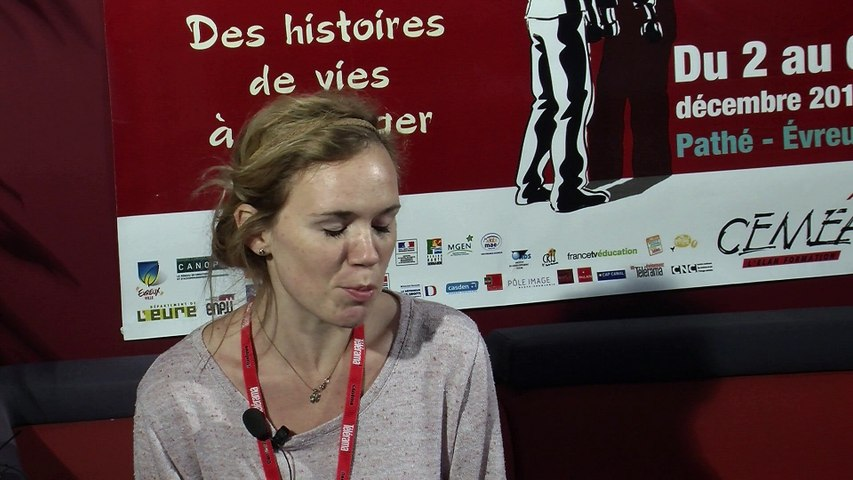 Bertille Barbat - Festival Européen du Film d'Education 2014