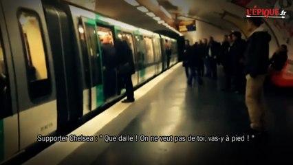 Kurt Zouma voulait se rendre au Parc en métro pour profiter de l'ambiance !