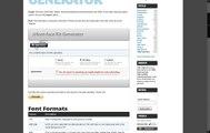 FontPress (4) - manage Font-Face fonts