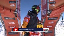 FWT15 - Run of Richard Amacker (SUI) Swatch Freeride World Tour 2015 Fieberbrunn By The North Face restaged in Vallnord-Arcalis AND