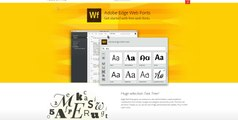 FontPress (3) - manage Adobe web fonts