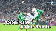 ASSE-OM : vu de Sainté