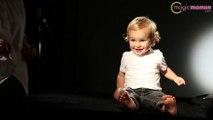 Shooting Harcourt pour l'élection Bébé Cadum: nos conseils pour réussir les photos de son bébé