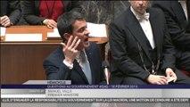 """Manuel Valls : """"Il n'y a pas de majorité de rechange"""""""