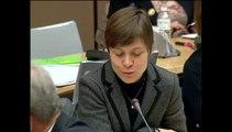 Mon intervention lors de l'audition de Madame la Secrétaire d'Etat chargée de l'Enseignement supérieur et de la Recherche