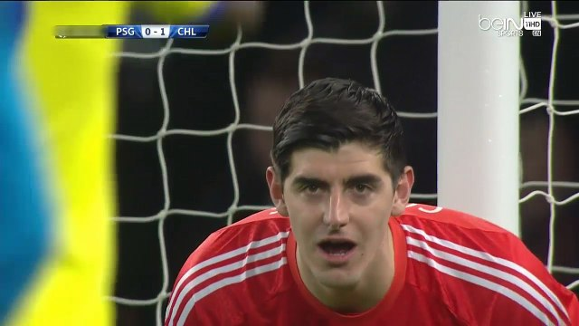 Thibaut Courtois Amazing Saves vs PSG 2015 - Champions League 2015