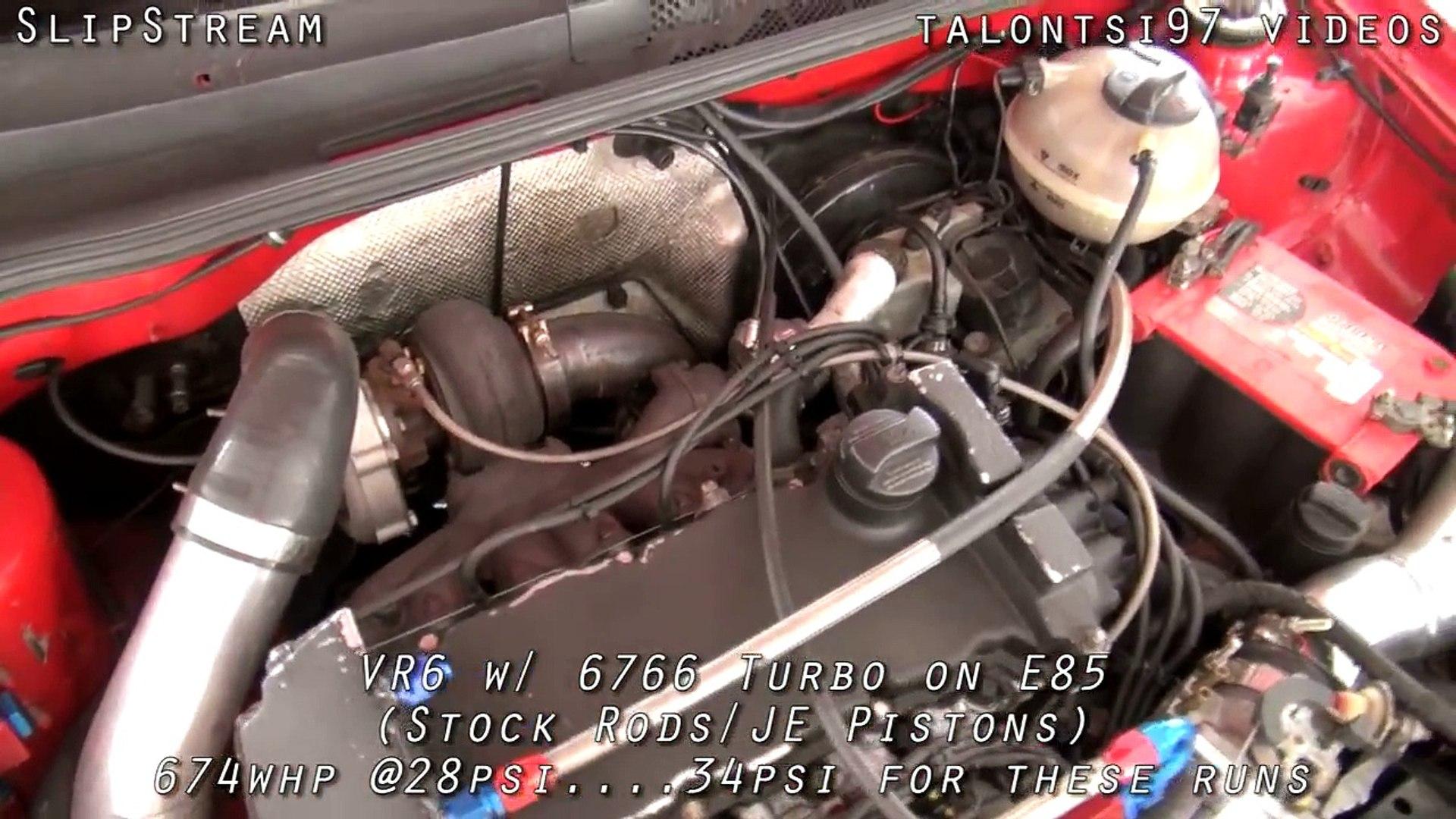 GOLF 3 VR6 TURBO GTI 700 HP roll racing! GTR M5 ZL1 kills