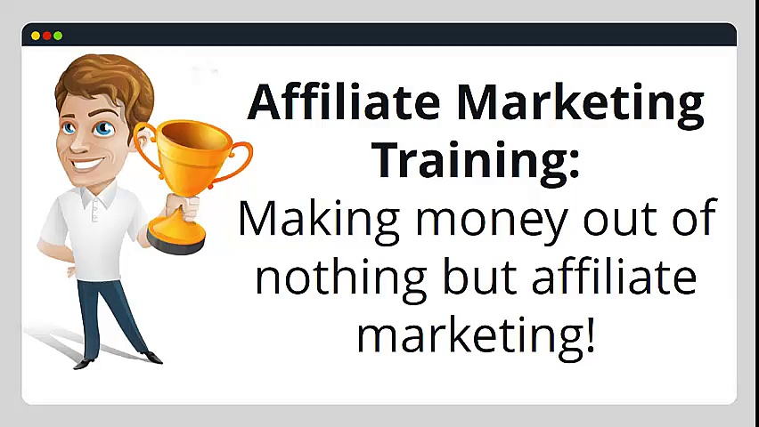 The Wealthy Affiliate – Nothing But Affiliate Marketing