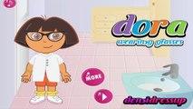 Dora l'exploratrice jeu - Dora l'exploratrice oeil jeu médecin de soins - Jeux gratuits en ligne