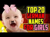 Top 20 Most Popular German Names For Girls   Get Germanized