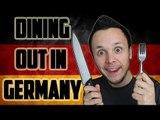 Dining Out in Germany - Auswärts Essen in Deutschland   German Culture
