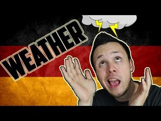 German Weather Vocabulary