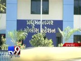 Rajkot: Police attacked for questioning man during patrolling duty - Tv9 Gujarati
