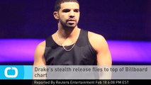 Drake's Stealth Release Flies to Top of Billboard Chart