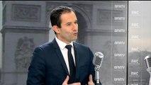 """Loi Macron:""""Je ne suis pas le roi des frondeurs"""", estime Benoît Hamon"""