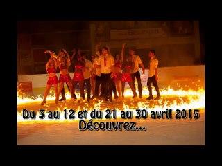 L'équipe de France de Patinage en Tournée