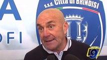 Brindisi - Fidelis Andria 1-1 | Post Gara Giancarlo Favarin Allenatore Fidelis Andria