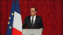 Hollande ironise devant Pellerin sur ceux qui ne connaissent pas les ouvrages de Modiano