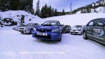 Stage de pilotage sur glace en Subaru WRX et Porsche 911 sur le circuit de Flaine