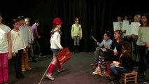 Camion des mots - Classe de CM2 Ecole primaire La Genette de La Rochelle (17)