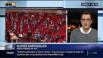 Motion de censure après l'utilisation du 49-3 pour la loi Macron - réaction d'Olivier Dartigolles sur BFM