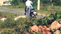 OMG!! What Is He Doing With The Woman On The Road ___