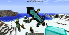 minecraft comment construire une epee geant