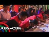 Foreigners compete Bicol's sili-eating challenge